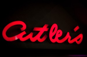 Culter's outdoor sign