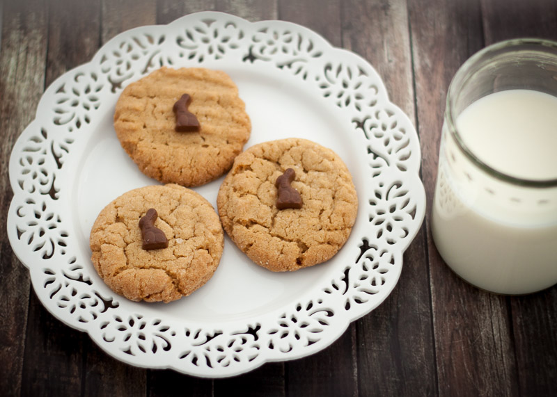 PB Cookies and Milk